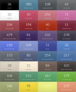 T-skjorter i mange forskjellige farger
