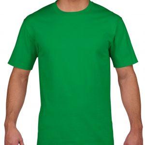 t-skjorte i kvalitetsbomull, med trykk