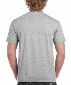 t-skjorte i ren bomull med valgfritt trykk