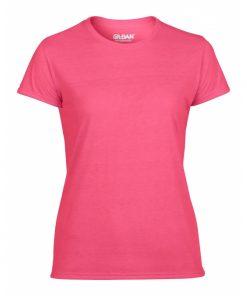 t-skjorte i polyester med valgfritt trykk