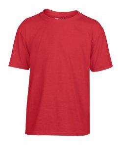 t-skjorte i polyester til barn, med valgfritt trykk
