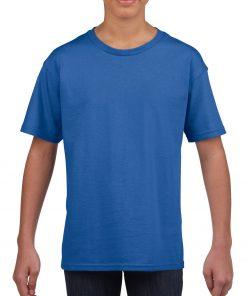 t-skjorte med trykk til barn, 100% bomull
