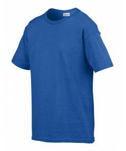 t-skjorte i 100% bomull med trykk til barn