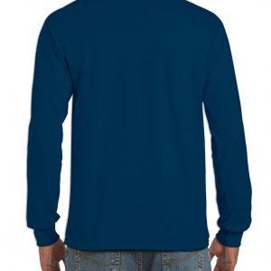 Langermet t-skjorte med logo