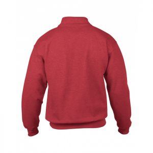 genser med glidelås i halsen - egen logo