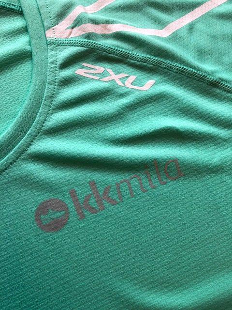 trenings t-skjorte med logo