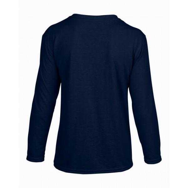 langermet t-skjorte til barn - valgfritt trykk