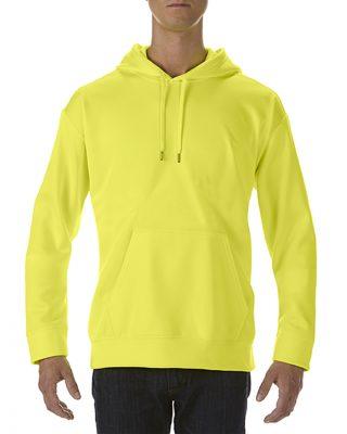 Varselklær hoodie med trykk