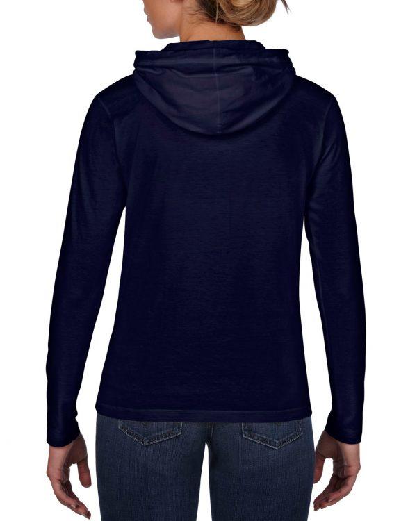 Tynn hoodie med logo