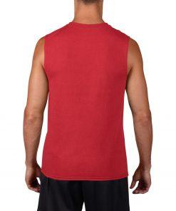 ermeløs t-skjorte med logo