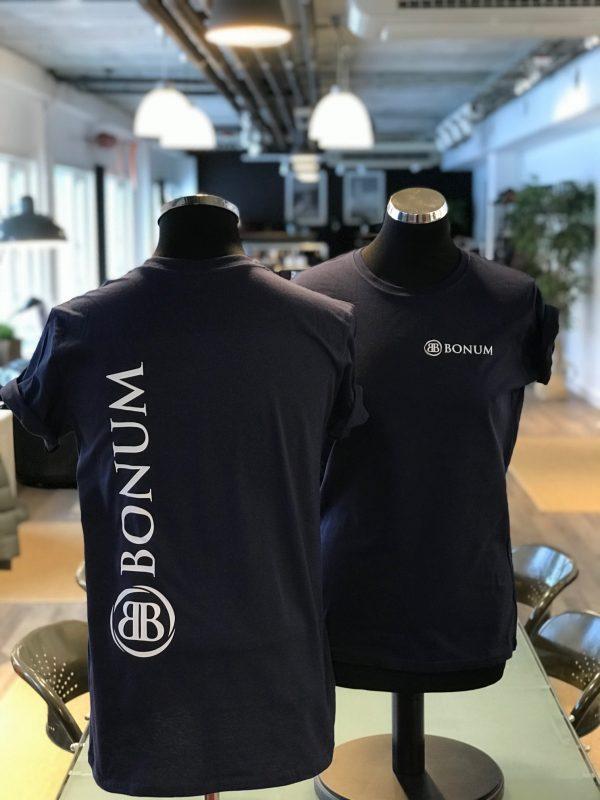T-skjorte med firmalogo