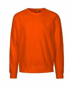 Sweatshirt med logo