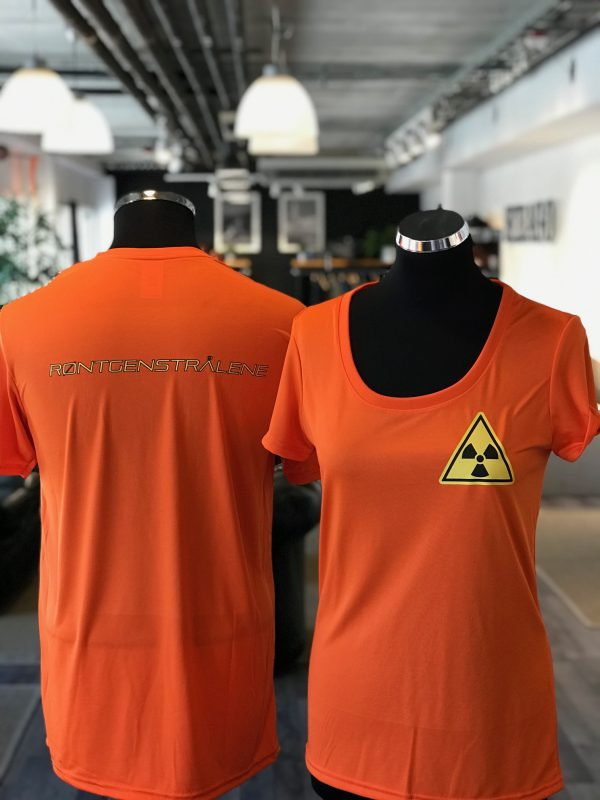 Teknisk t-skjorte med trykk