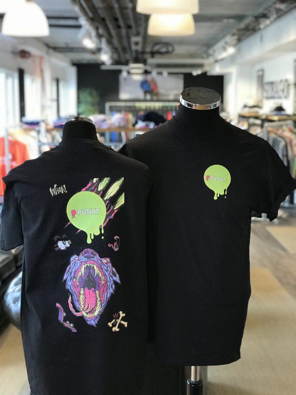 T-skjorte med transfertrykk
