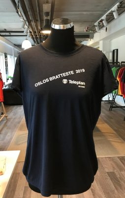 Tekniske t-skjorter med trykk